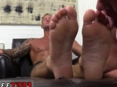 Hot naked men feet gay sex movies first time Dev Worships Jason James'