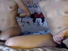 two young sexy girls masturbated for tips on webcam - www.fapfaplers.top