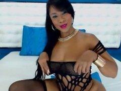 sexy ebony in black lingerie teases on webcam prt 2 - www.fapfaplers.top