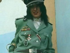 Pissing Girl in Uniform