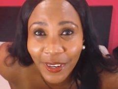 beautiful mature ebony latina milf skype part 1