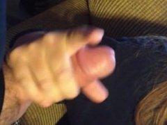 Amateur Strokes His Cock To a Huge Orgasm