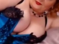 bbw red hair mature in stockings