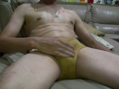 Taiwanese wank cock solo on cam