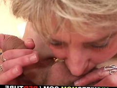 Cock hungry mother-in-law seduces him