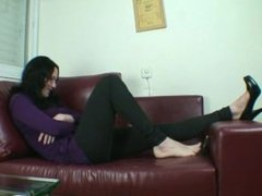 Giantess On The Couch