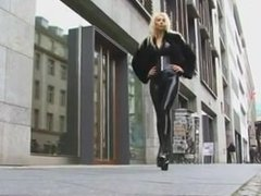 Latex and fur walking in public