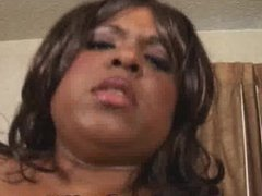 Ebony BBW Beauty Cock Sucking