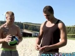 Dudes cock in public movies gay Volley-Ball & Some Dick!