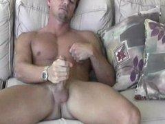 Sexy, Dick-Strokin Masturbator