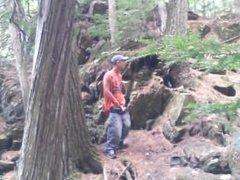 Forest voyeur jerking off #2