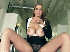 Milf Julia Ann Tells You To Pull Out Your Cock!
