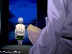 Naked anime prisoner gets cunt teased in sex experiments