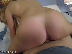 Blonde Babe Sucks and Fucks