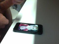Phone Facial for Jenny Jizz