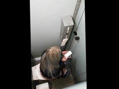 Hidden Cam Toilet Girl Voyeur - 17
