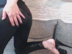 NEUES VIDEO!! LEDER LEGGINGS