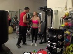 Digital Playground- Fitness Babe Sucks Huge Cock In The Gym