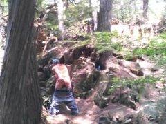 Forest voyeur jerking off #7