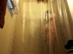 POV GUY IS IN THE SHOWER WITH THE WATER NICE AND HOT ★