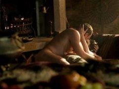 Laura Haddock - Full Frontal Nudity, Bush - Da Vincis Demons (2013)