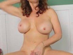 Rachel Steele - Handjob and Footjob