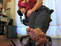 Feet JOI - Cum again and again ...