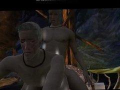 Dragon Age Origins: Zevran x Doram