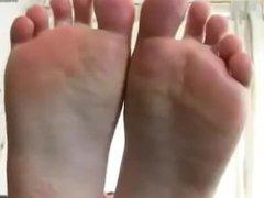 Interracial feet worship