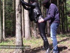 Leather wife in trouble
