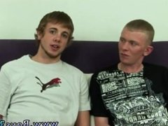 Big and beautiful dick with a young gay boys Sean and Mike lay side by
