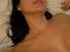 Marley likes to have sex in the morning and to get a nice creampie