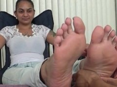 Sexy Indian Foot Massage.