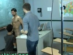 Young men thongs gay porn movie first time Just another day at the Teach