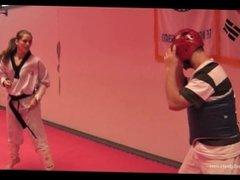 Marina vs 3 Men (Short Movie)