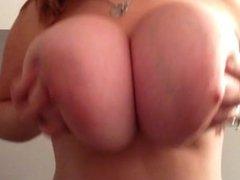 Showing off my big, juicy tits