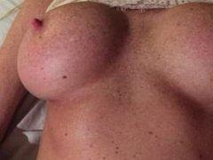 Must See Sexy Lady Di 34DD Masterbating