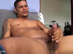 Young and Hung Latino Chuy Jacking Off