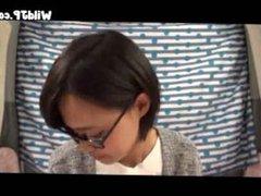 Teen From Japan Wears Glasses