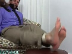Men gay sex to men movie Chase LaChance Tied Up, Gagged & Foot Worshiped
