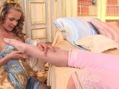 Baroque lesbians foot fetish