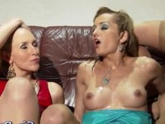 Glam lesbos piss drenched