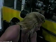 Robin C big thick muscle
