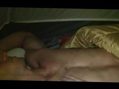 "The Best ""Sleeping"" While Camping Video Ever! Huge Cock and Hot Guy!"