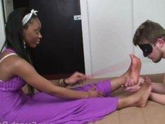 Beautiful Ebony Foot Domination