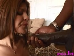sexy bubble butt milf thought she wanted to try a big monster negro cock bu