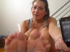 Feet JOI with Countdown