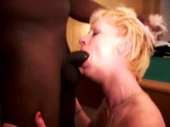 Blonde Wife Satisfies Black Guy