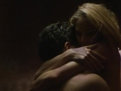 Kathleen Kinmont in the erotic film The Corporate Ladder