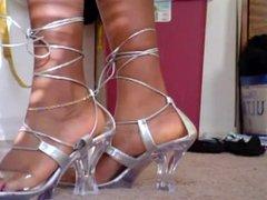 feet in heels compilation
